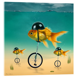 Cuadro de metacrilato  gold fish - Mark Ashkenazi
