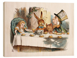 John Tenniel - Alice in Kaffeeklatsch