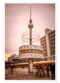 Póster World Timer Berlin