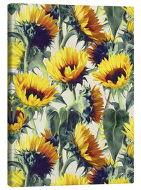 Lienzo  Sunflowers forever - Micklyn Le Feuvre