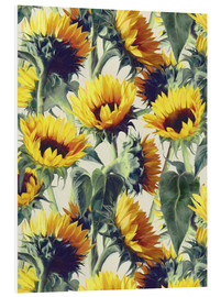 Cuadro de PVC  Sunflowers forever - Micklyn Le Feuvre