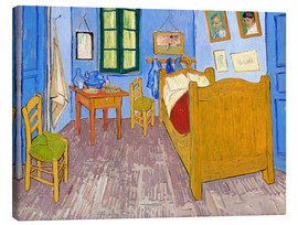 Lienzo  Vincent's Bedroom in Arles - Vincent van Gogh