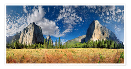 Póster Yosemite Valley - El Capitan