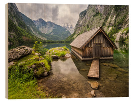Madera  Lonely Hut at Obersee / Königssee - Andreas Wonisch