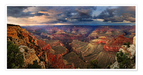 Póster Grand Canyon View
