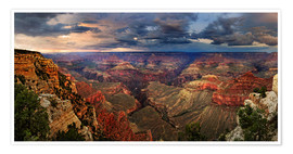 Póster  Grand Canyon View - Michael Rucker