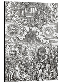 Cuadro de aluminio  Opening of the sixth seal - Albrecht Dürer