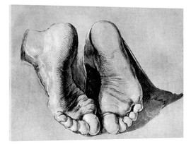 Cuadro de metacrilato  Feet of an apostle - Albrecht Dürer