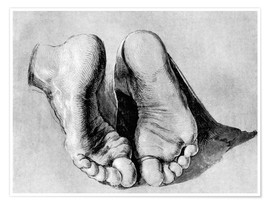 Póster Feet of an apostle