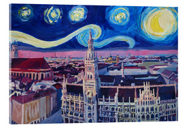 Cuadro de metacrilato  Starry Night in Munich - M. Bleichner