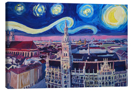 Lienzo  Starry Night in Munich - M. Bleichner