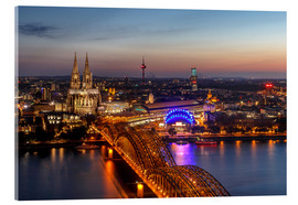 Metacrilato  Cityscape Cologne Germany - Achim Thomae