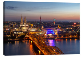 Lienzo  Cityscape Cologne Germany - Achim Thomae