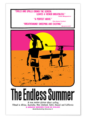 Póster The Endless Summer