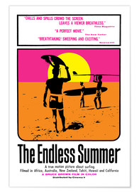 Póster  The Endless Summer - Entertainment Collection