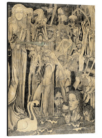 Cuadro de aluminio  Loss of Faith - Jan Toorop