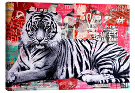 Lienzo  Tigre collage - Michiel Folkers