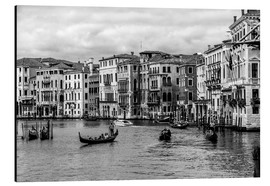 Aluminio-Dibond  Venice black and white - Filtergrafia