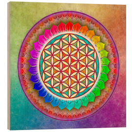 Dirk Czarnota - Flower of Life - Rainbow Lotus Artwork I