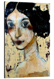 Aluminio-Dibond  WOMAN WITH BLACK HAIR - RAR Kramer