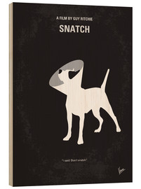 Madera  No079 My Snatch minimal movie poster - chungkong
