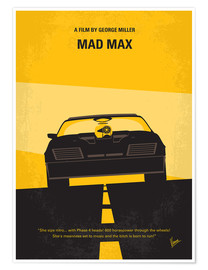 Póster Mad Max 1