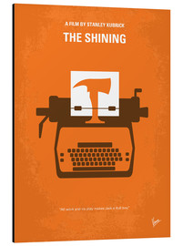 Aluminio-Dibond  No094 My The Shining minimal movie poster - chungkong