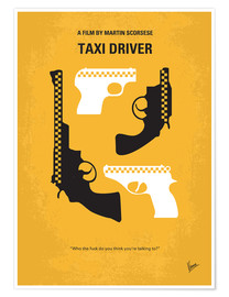 Póster Taxi Driver