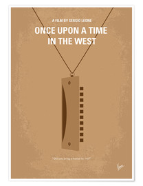 Póster Once upon a time in the west