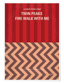 Póster Twin Peaks, Fire walk with me