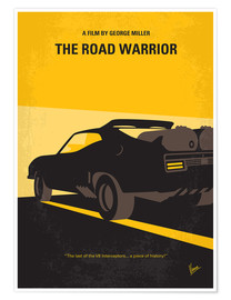 Póster Mad Max - Road Warrior