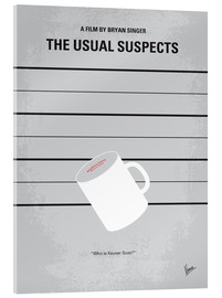 Metacrilato  No095 My The usual suspects minimal movie poster - chungkong