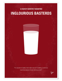 Póster  No138 My Inglourious Basterds minimal movie poster - chungkong