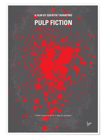 Póster  No067 Mi póster de Pulp Fiction - chungkong