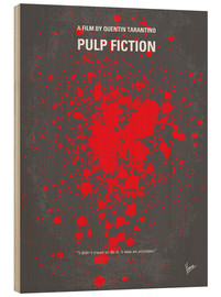 Madera  No067 Mi póster de Pulp Fiction - chungkong
