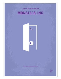 Póster  Monsters, Inc. - chungkong