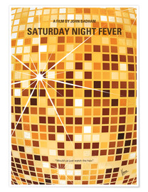 Póster Saturday Night Fever