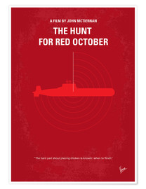 Póster The Hunt For Red October