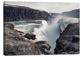 Lienzo  Gulfoss - Images Beyond Words