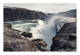 Póster  Gulfoss - Images Beyond Words