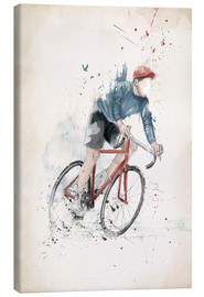 Lienzo  I want to ride my bicycle - Balazs Solti