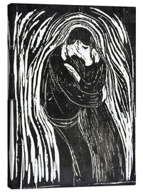 Lienzo  The Kiss II - Edvard Munch