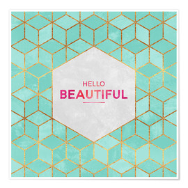 Póster Hello Beautiful