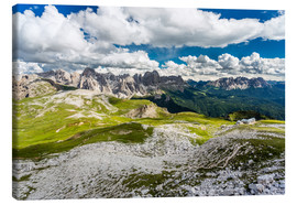 Lienzo  Mountain views Dolomites - Thomas Hagenau