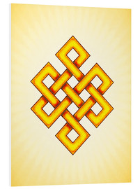 Forex  Endless Knot - Artwork Yellow - Dirk Czarnota