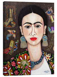 Lienzo  Frida thoughts - Madalena Lobao-Tello