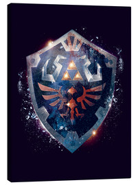 Lienzo  Epic Shield of Hyrule - Barrett Biggers