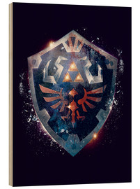 Madera  Epic Shield of Hyrule - Barrett Biggers