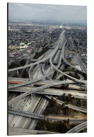 Cuadro de aluminio  Carreteras en los angeles - David Wall