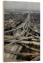 Madera  Los Angeles, Aerial of Judge Harry Pregerson Interchange and highway. - David Wall